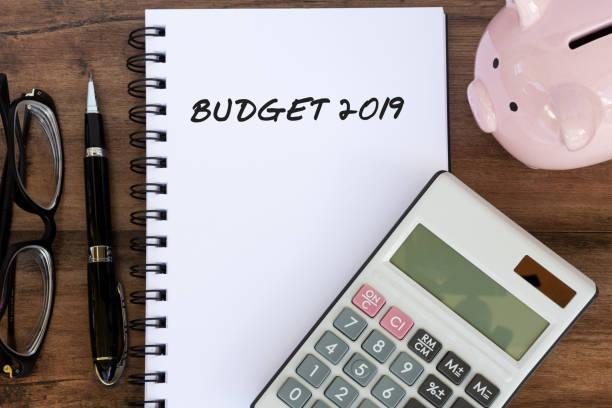budget-2019 - budget stock-fotos und bilder