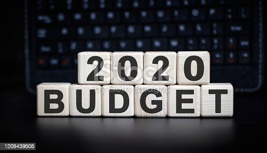 1170746979 istock photo 2020 budget - Concept of Business on wooden cubes 1209439505