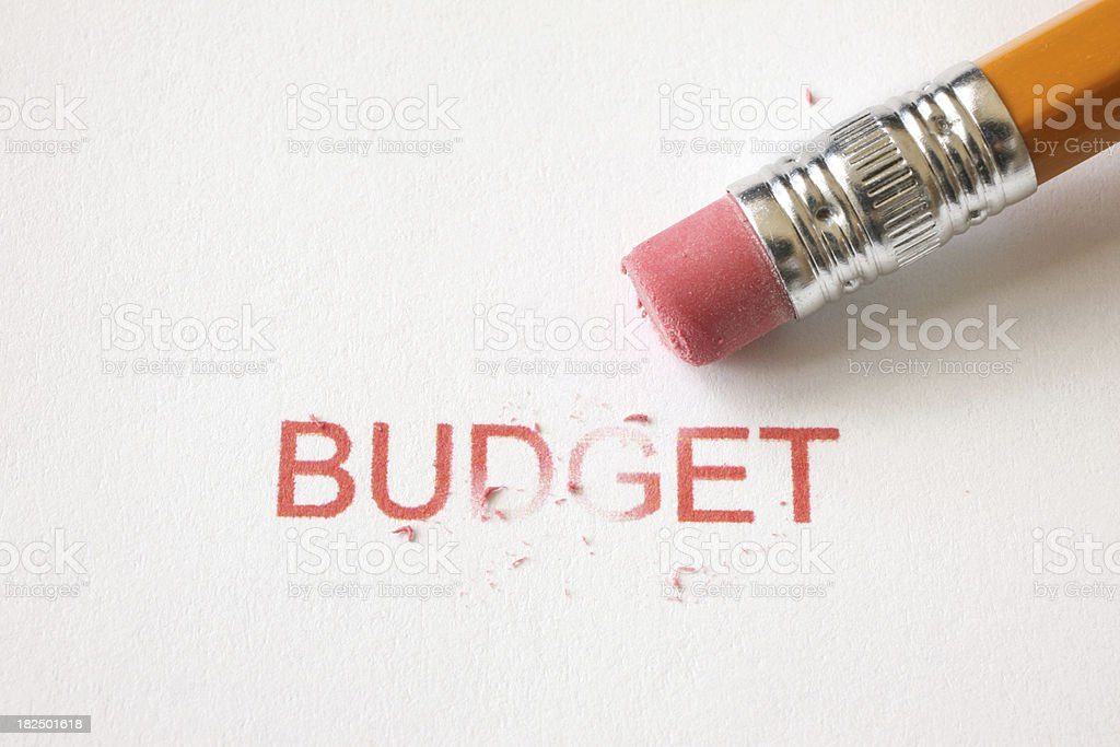 Budget Control stock photo