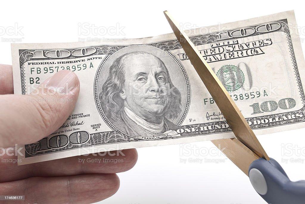 Budget Cuts stock photo