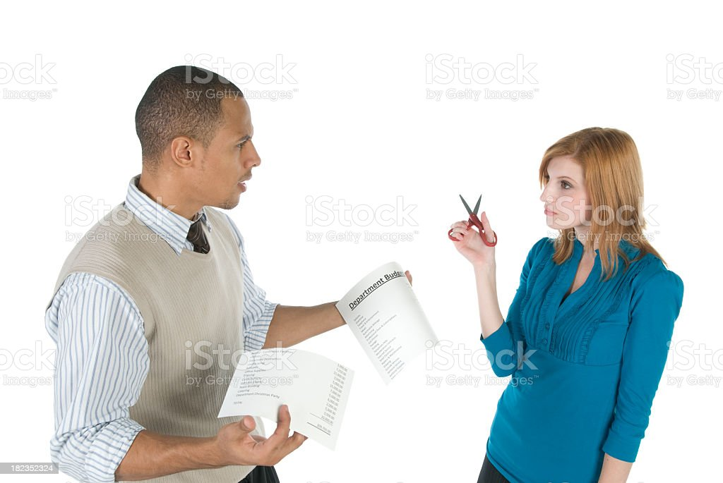 Budget Cuts stock photo