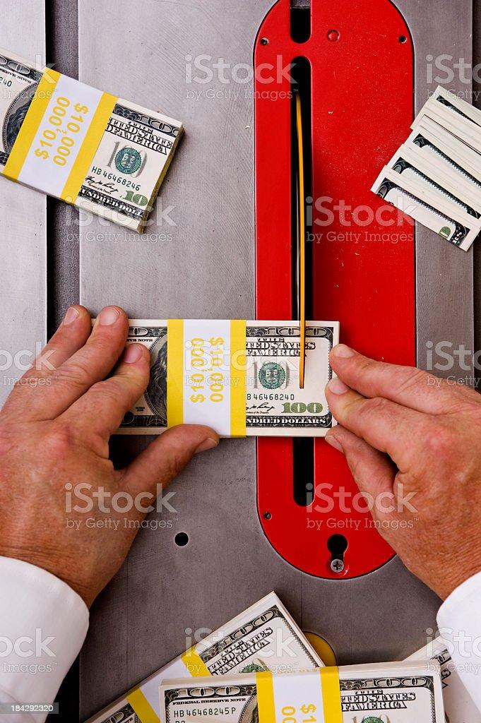 Budget Cutting stock photo