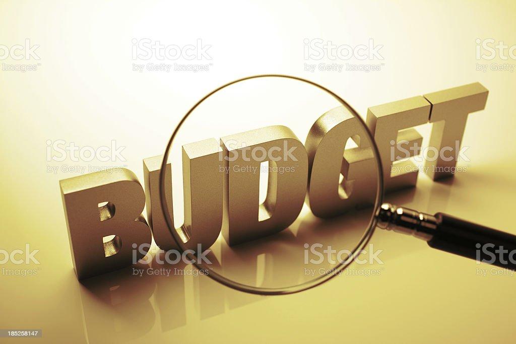 Budget Estimation stock photo