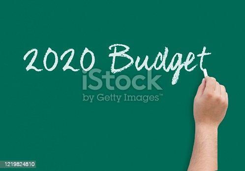 1170746979 istock photo 2020 Budget 1219824810