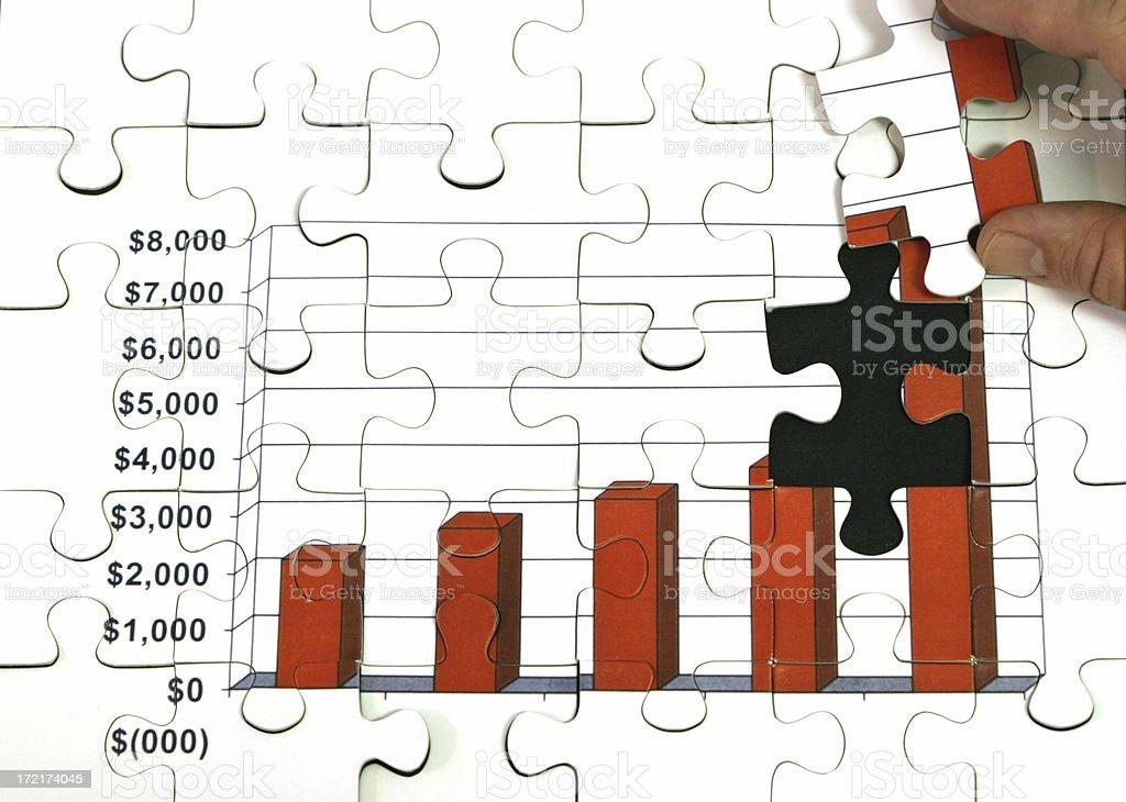 Budgeting royalty-free stock photo