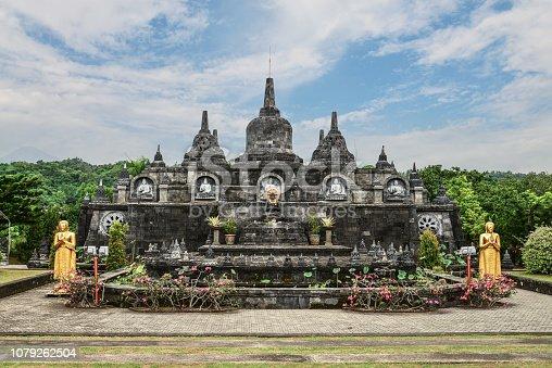Budhist temple Brahma Vihara-Arama Banjar in Lovina, Indonesia, Bali, it
