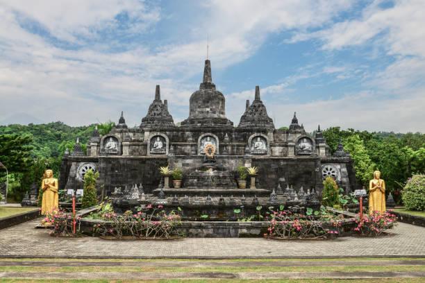 Budhist Tempel Brahma Vihara-Arama Banjar in Lovina – Foto