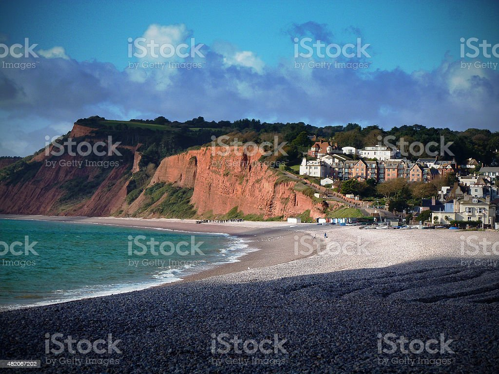 Budleigh Bay stock photo