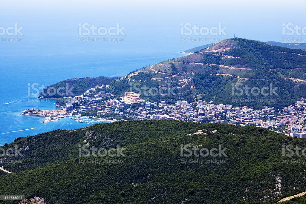 Budva Montenegro royalty-free stock photo