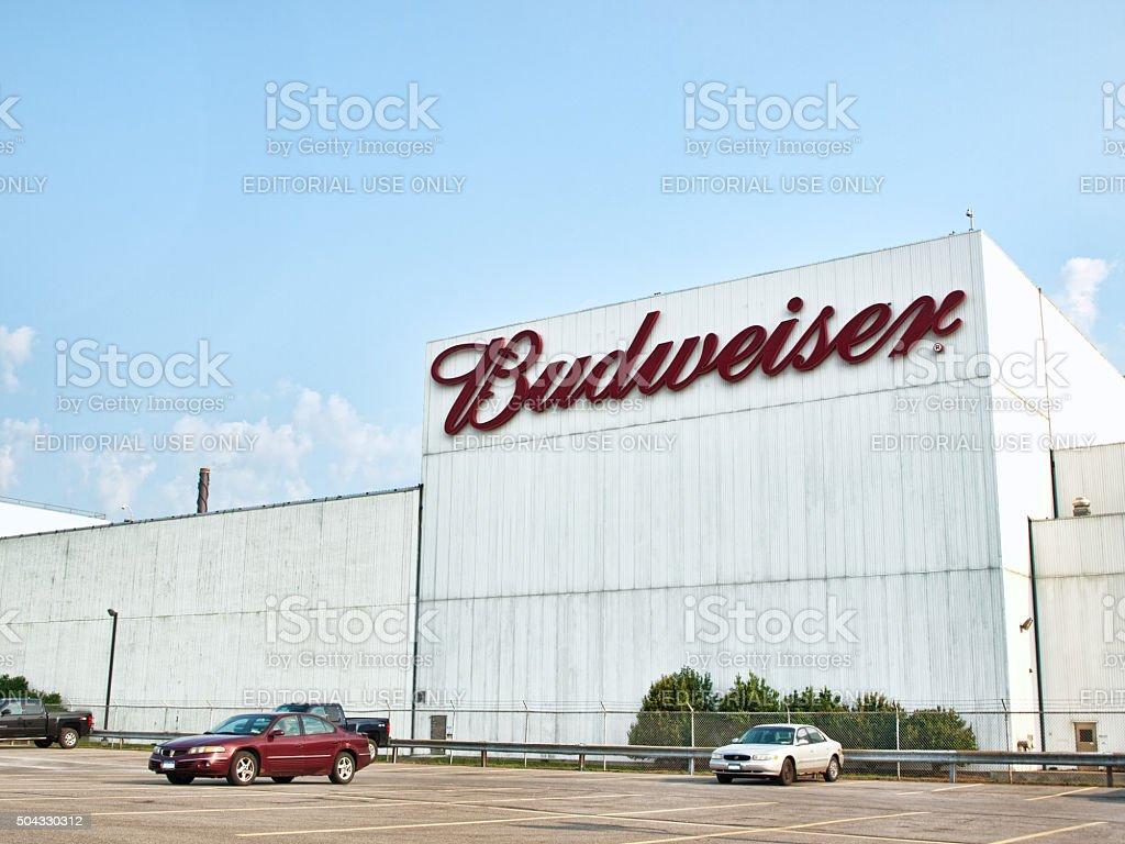 Budweiser plant royalty-free stock photo