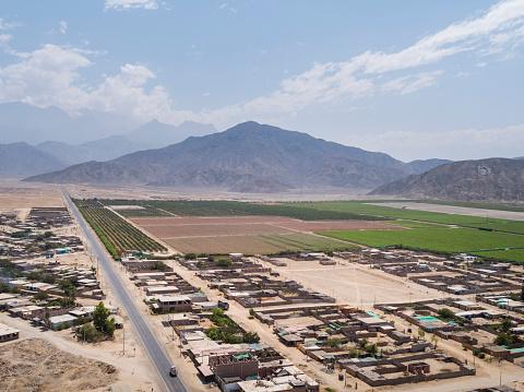 istock Buena Vista town in Ancash Region in the Peruvian Highlands 1211042190