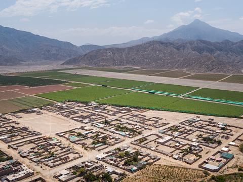 istock Buena Vista town in Ancash Region in the Peruvian Highlands 1211042191