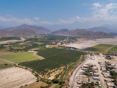 istock Buena Vista town in Ancash Region in the Peruvian Highlands 1211042206