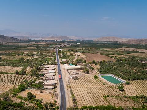istock Buena Vista town in Ancash Region in the Peruvian Highlands 1211042210