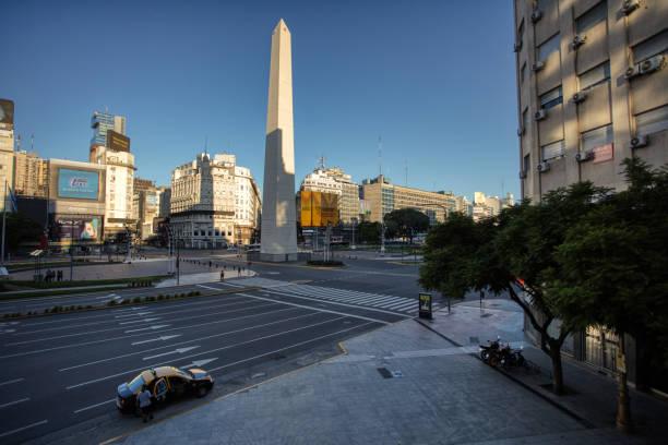 Buenos Aires fast leer – Foto