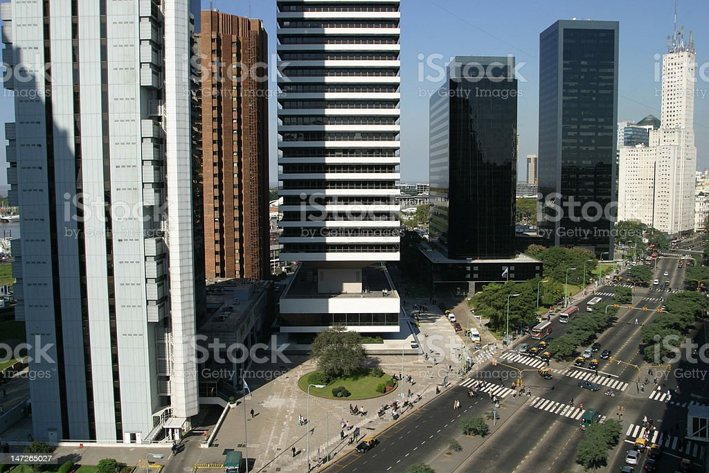 Buenos Aires City Argentina royalty-free stock photo