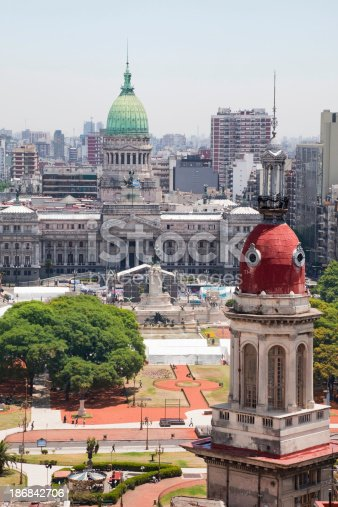 The Congress of the Argentine Nation (Spanish: Congreso de la NacionOther images of Buenos Aires