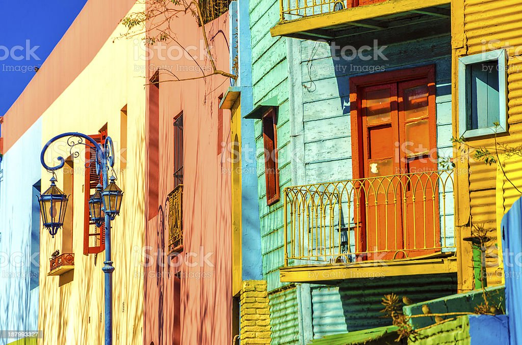 Buenos Aires Colors stock photo