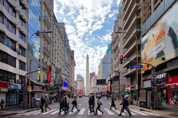 Buenos Aires Corrientes Avenue – Foto
