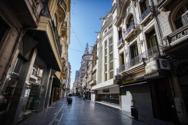 Buenos Aires nach Coronavirus-Quarantäne leer – Foto