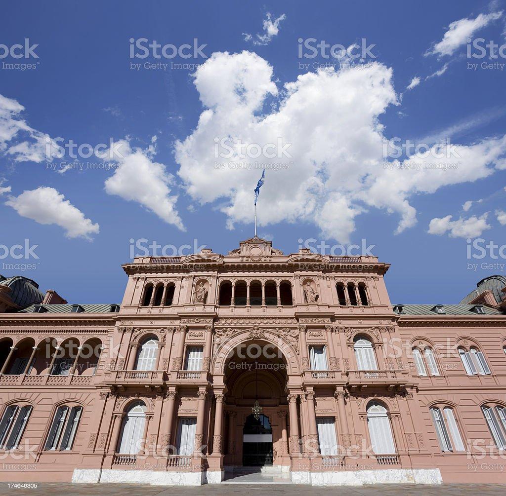 Buenos Aires government building Casa Rosada stock photo