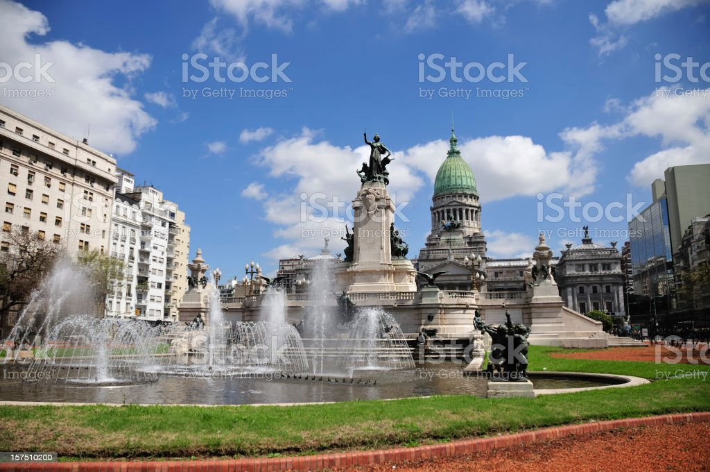 Buenos Aires royalty-free stock photo