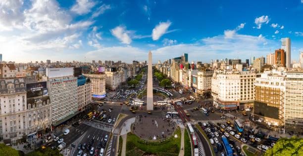 Buenos Aires Skyline stock photo