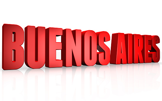 istock 3D Buenos Aires text on white background 481261410