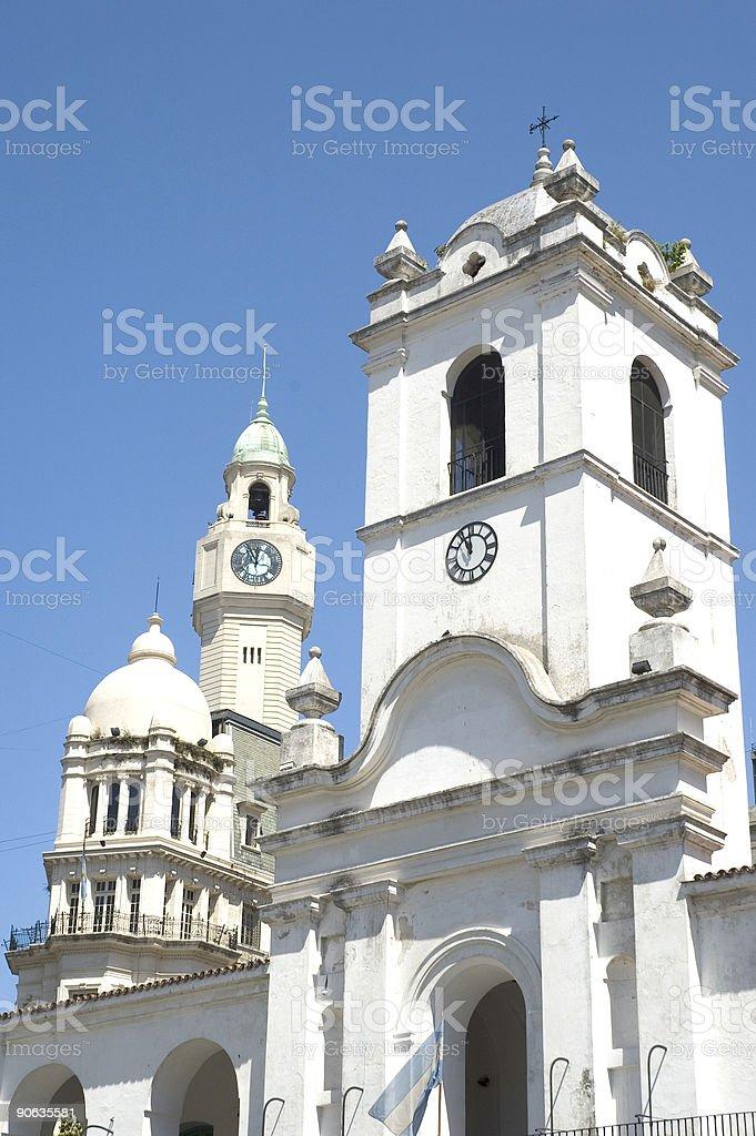 Buenos Aires, the Cabildo Building royalty-free stock photo