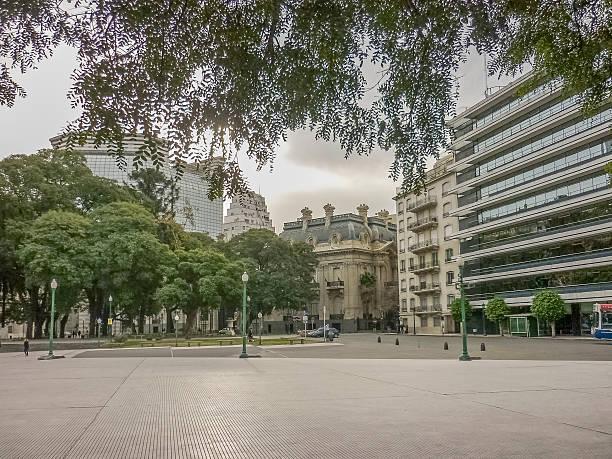 Buenos Aires Escena urbana - foto de stock