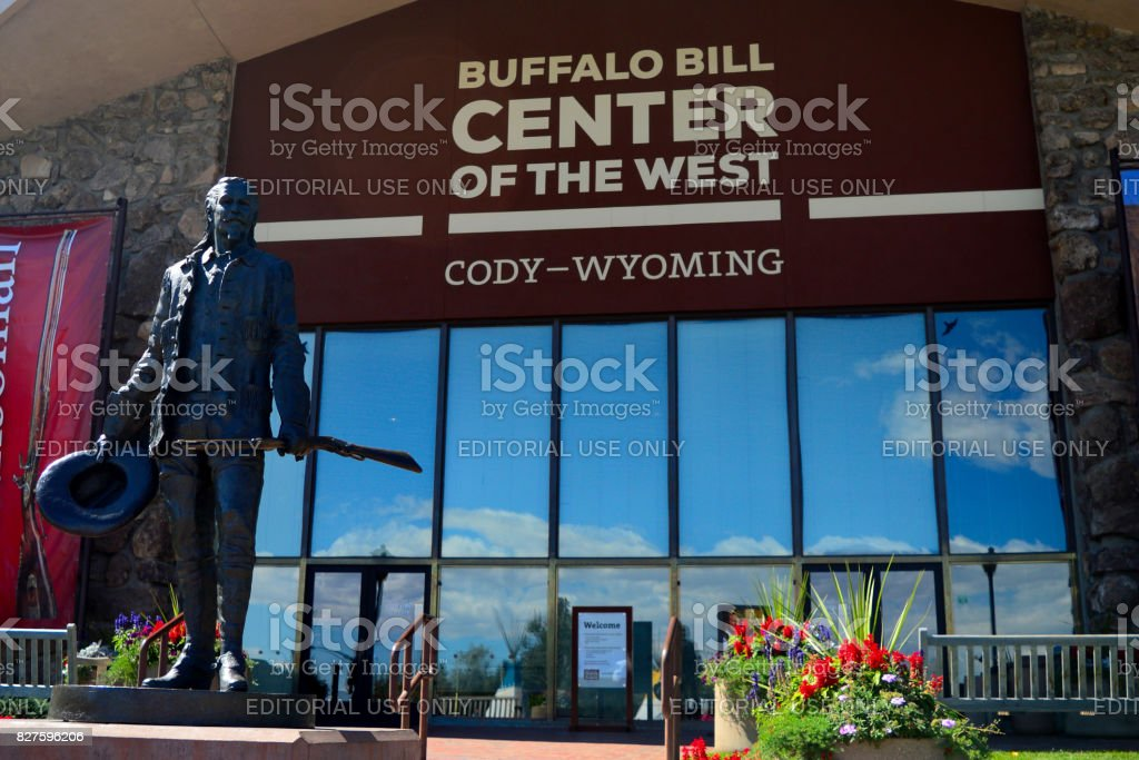 Buffalo Bill Center of the West stock photo