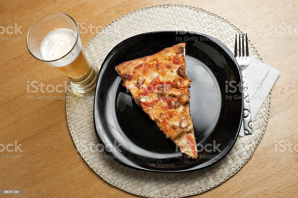 Buffalo Chicken Pizza royalty-free stock photo