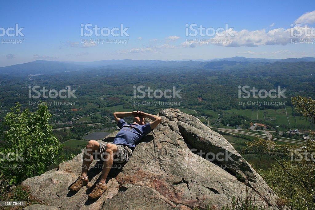Buffalo Mountain Overlook royalty-free stock photo
