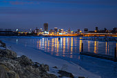A skyline view of buffalo new york