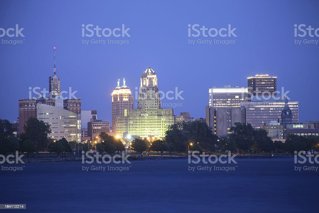 Buffalo, New York royalty-free stock photo