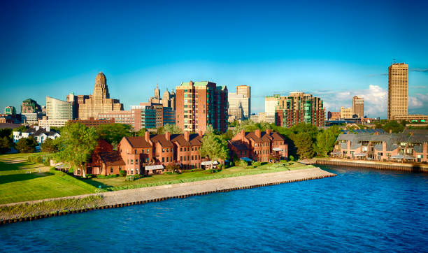 Buffalo, New York, USA stock photo