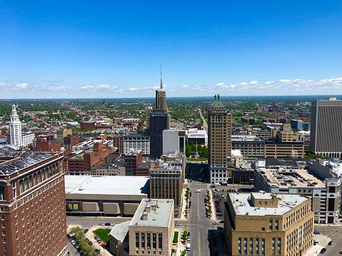 Buffalo NY from city hall