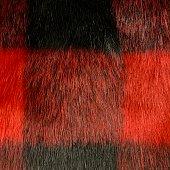 istock Buffalo Plaid Fake Fur 1305623338
