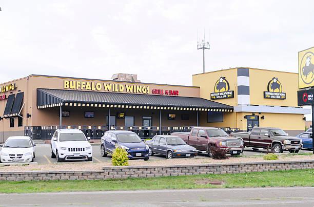 Buffalo Wild Wings Exterior In Minnesota, United States stock photo