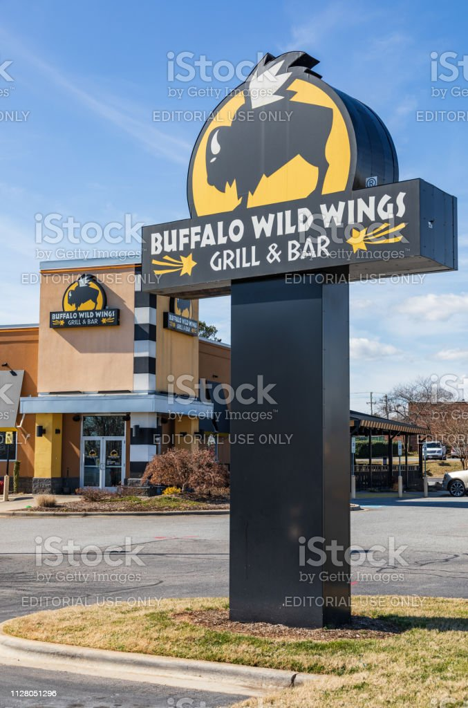 Buffalo Wild Wings location stock photo