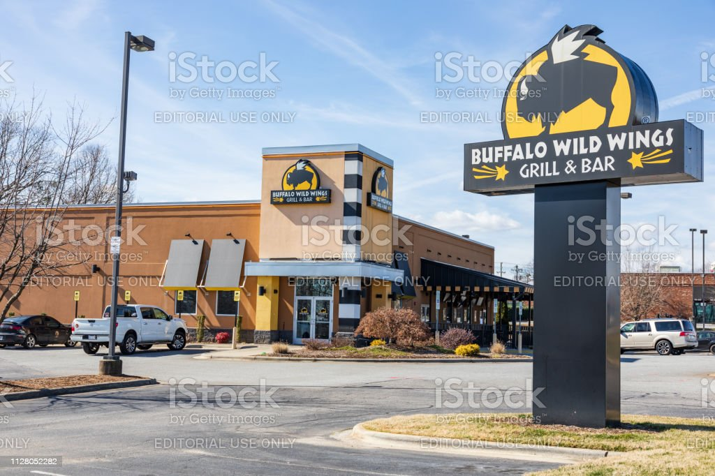 Buffalo Wild Wings restaurant stock photo