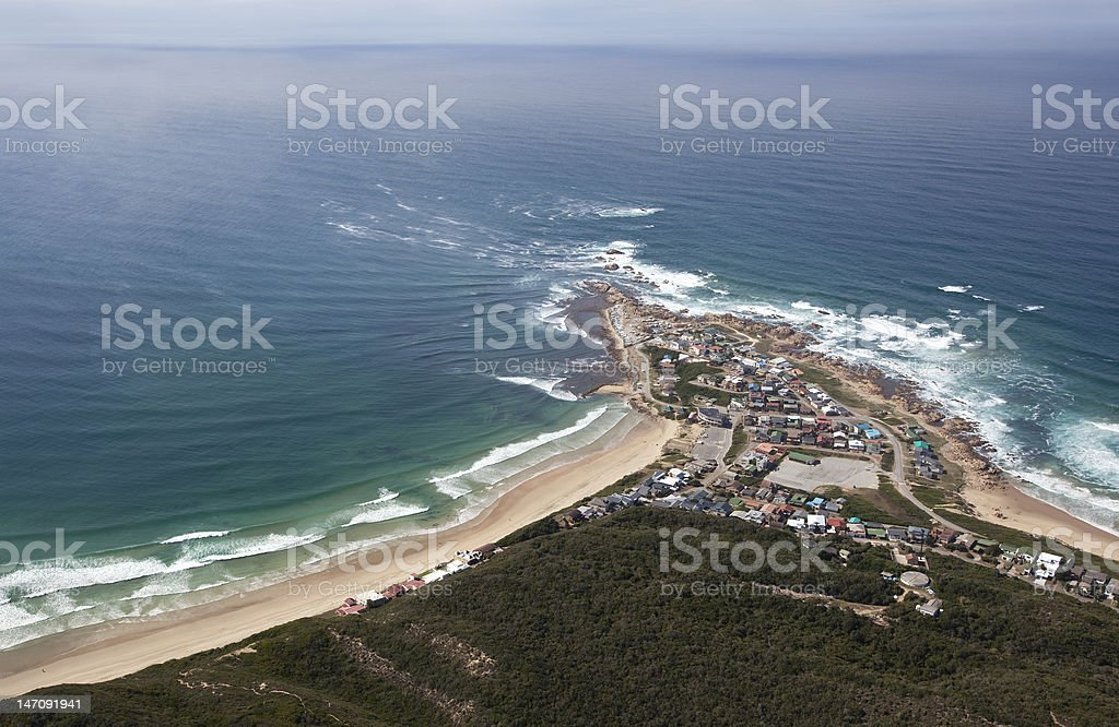 Buffels Baai/ Buffalo Bay on the Garden Route stock photo
