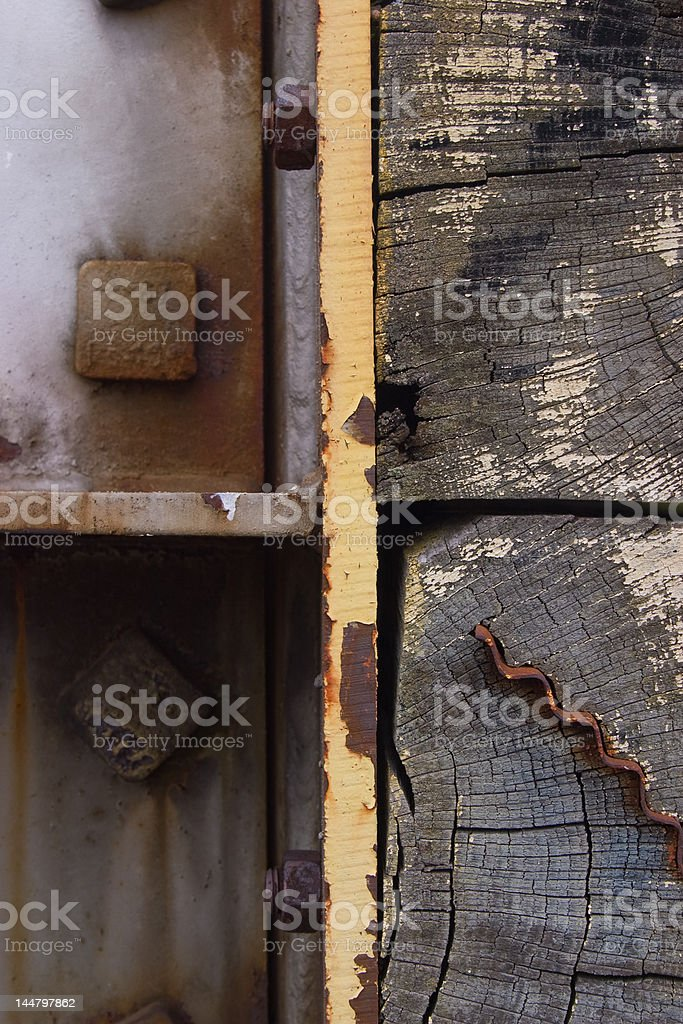 Buffer detail royalty-free stock photo