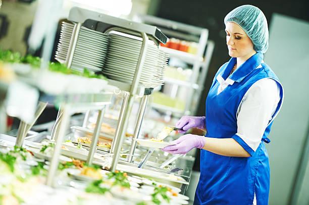 Buffet female worker servicing food in cafeteria picture id532966154?b=1&k=6&m=532966154&s=612x612&w=0&h=zje c5uo6oo9rpdjatpylhnai6rgkfrbqf8di46icli=