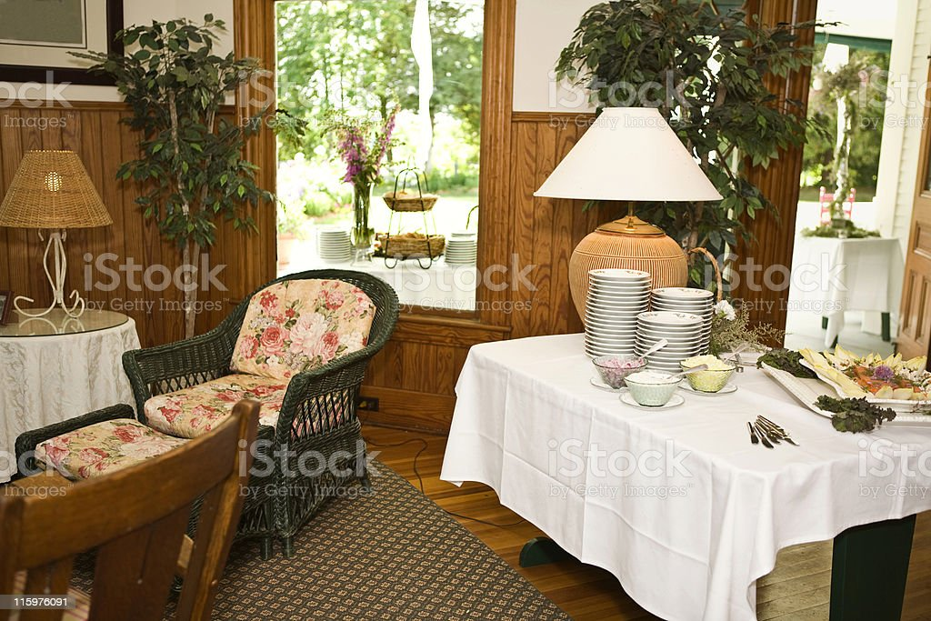 Buffet royalty-free stock photo