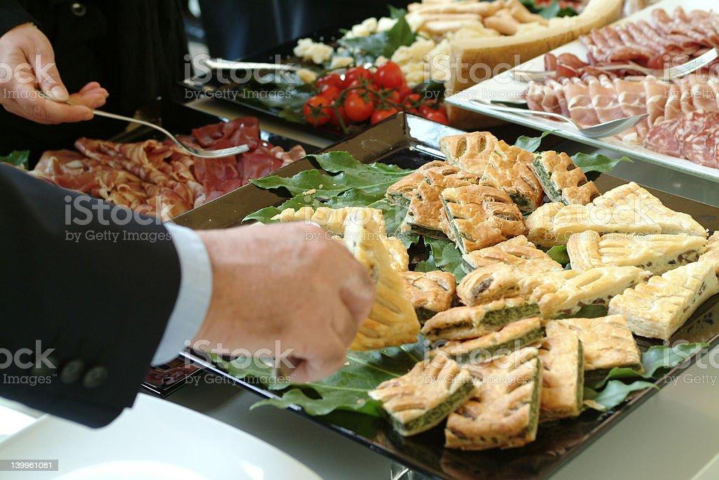 buffet royalty-free stock photo