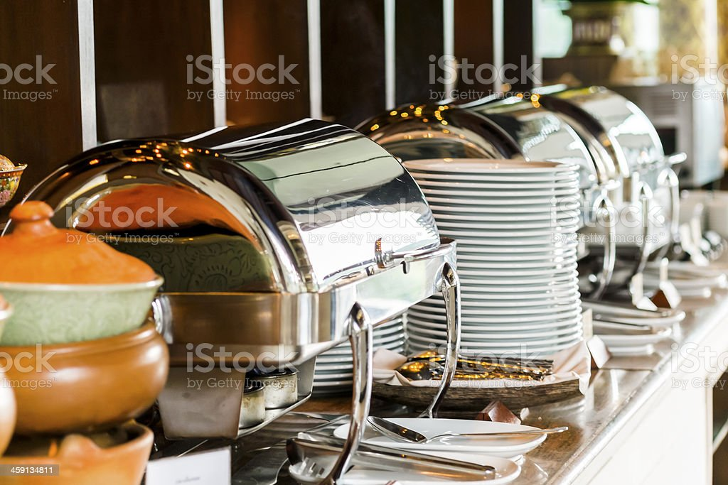 A Buffet - foto stock