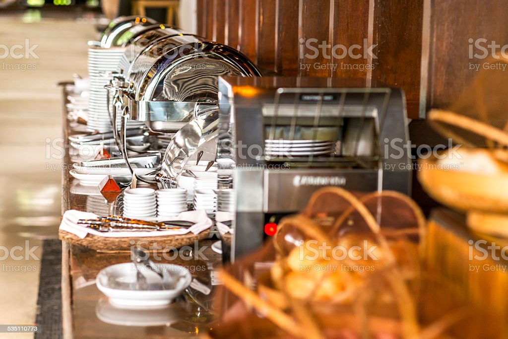 Buffet stock photo