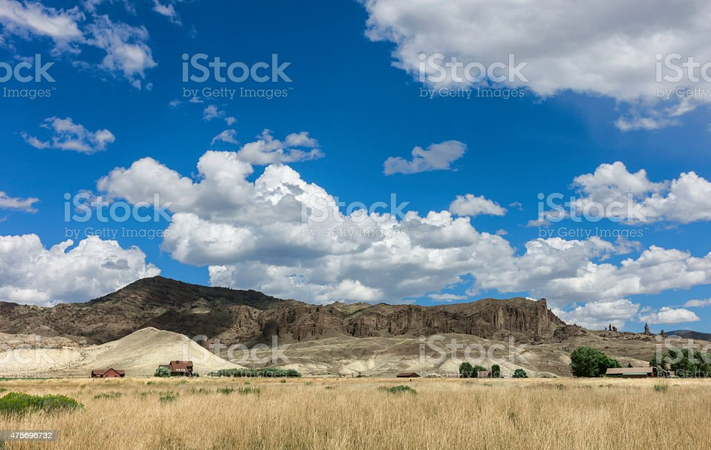 Bufflalo Bill State Park, Cody, Wyoming, USA. stock photo
