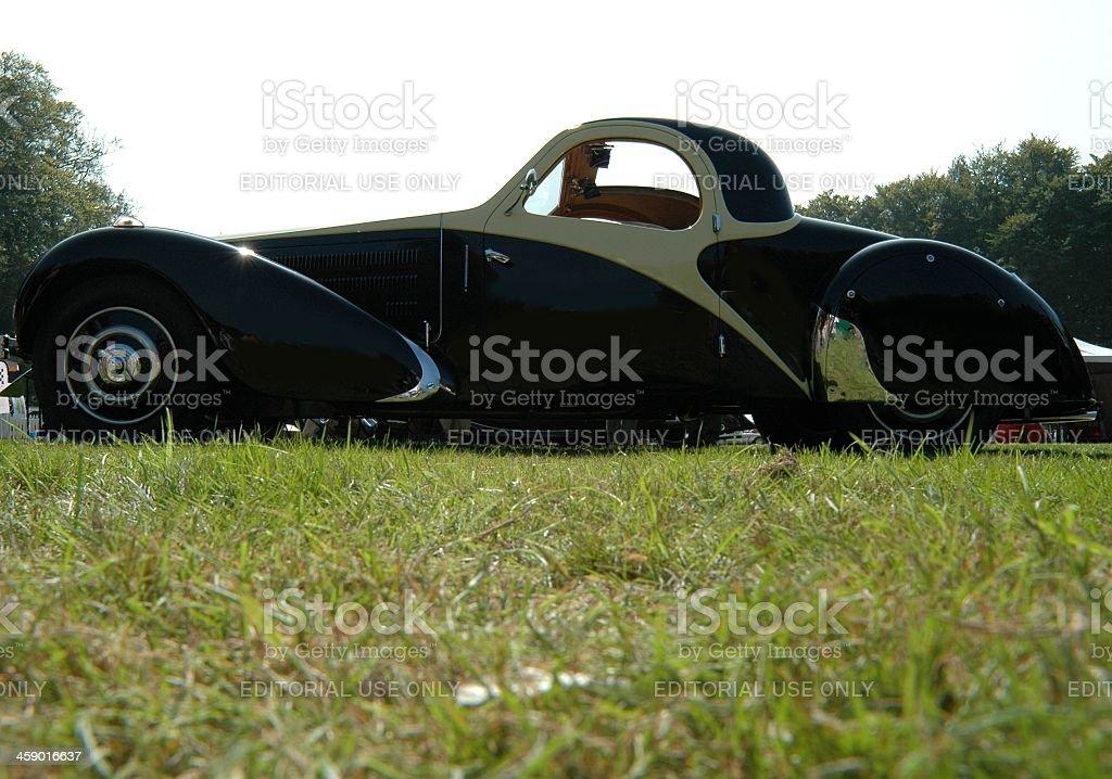 Bugatti 57 royalty-free stock photo